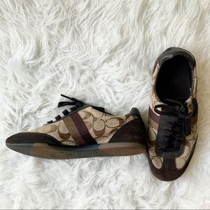 COACH Suede Sneakers